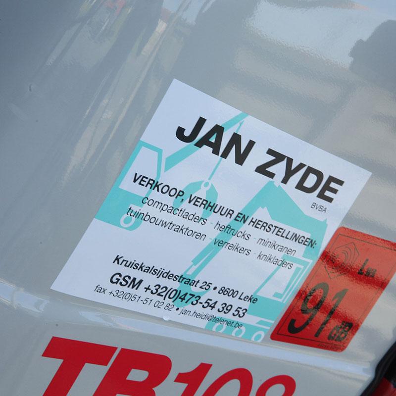 Onderhoud heftrucks, minikranen, compactladers en verreikers in West-Vlaanderen - Jan Zyde Diksmuide